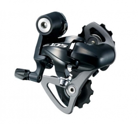 Shimano 105 5700 10 Speed Rear Derailleur Short Cage Black