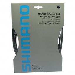 Kit Câbles et Gaines VTT Route Shimano Y8 pour Freins Mécanique