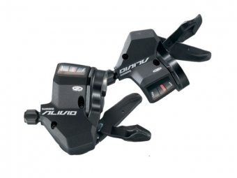 Shimano Commandes de vitesses Rapid Fire Plus ALIVIO M430 9 vitesses