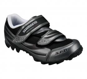 SHIMANO Paire de Chaussures M063 Noir/Gris Taille 43