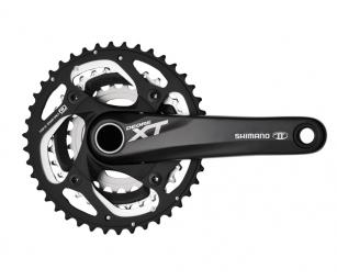 shimano pedalier complet xt noir fc m780 175mm boitier 3 x 10v 42 32 24