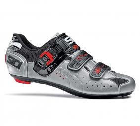 SIDI Chaussures Route GENIUS 5 PRO Noir/Agrent Taille 42