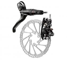 2012 AVID ELIXIR X0 brakes Pair Black / Black + G3 discs 160mm/160mm PM / IS