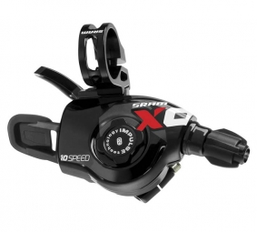 Sram Commandes de vitesses Triggers X0 2011 2 x 10 V (la paire) Rouges