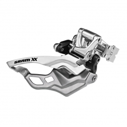 Sram XX 2x10sp High Clamp Front derailleur - Top Pull
