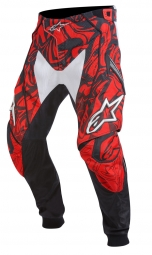 ALPINESTARS Pantalon TECHSTAR Black White Red Taille 32