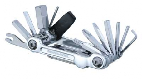 TOPEAK Multi-Outils MINI 20 PRO Argent (20 outils)