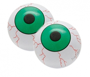 TRIKTOPZ Bouchons de Valves X 2 EYE BALL Vert