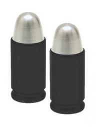 TRIKTOPZ Bouchons de Valves X 2 Fusée Noir