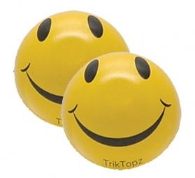 TRIKTOPZ Bouchons de Valves X 2 SMILEY