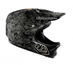 TROY LEE DESIGNS D2 HISTORY Integral Black M / L
