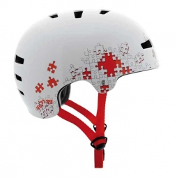 TSG Casque Bol Evolution Graphic Design Puzzle L/XL