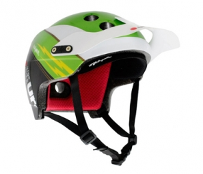 Endur-O-Matic 2011 Helmet Green URGE Flash / Black L / XL