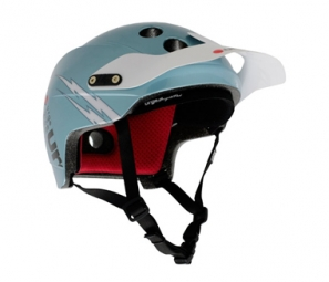 URGE 2011Casque Endur-O-Matic Flash bleu L/XL