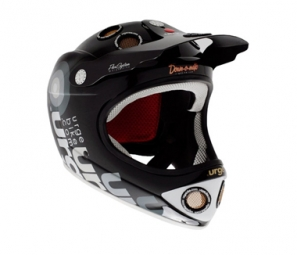 URGE 2011 Helmet Down-O-Matic Impact II Black L / XL