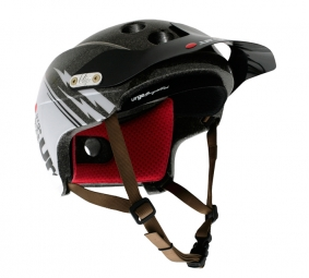 2011 Helmet URGE Endur-O-Matic Flash brown / white S / M