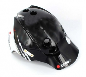 URGE 2011 Casque  Endur-O-Matic Flash noir/blanc L/XL
