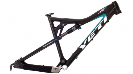 YETI 2011 cadre ASR 5 Carbone SMALL Noir/Turquoise + RP 23 Kashima 2012