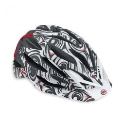 2010 BELL VARIANT Helmet Red and White Jimbo Size L