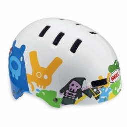 BELL Casque Faction Blanc critters taille M