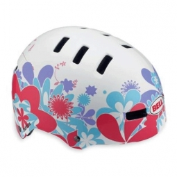 BELL Faction Helmet White Red Size M