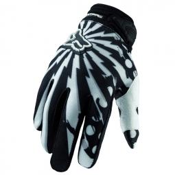 FOX gants Dirtpaw Camplosion blanc/noir 2010 S
