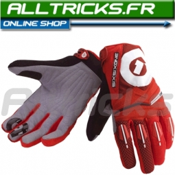 661 Sixsixone Gants Comp rouges Taille S
