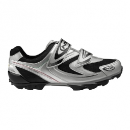 Northwave Chaussures Spike 2010 silver 45