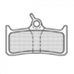 ASHIMA Paire de Plaquettes SHIMANO XT M7 Semi Métalliques