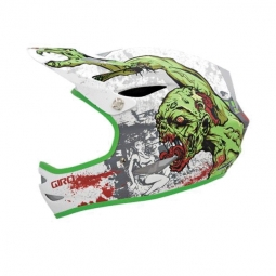Giro Remedy Helmet 2010 white / green size L zombies