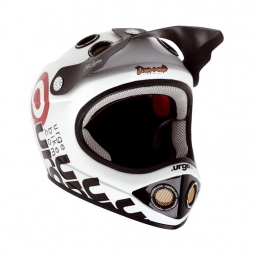 URGE Casque Down-o-matic blanc S/M