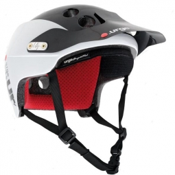 Helmet URGE Endur-O-Matic Classic Black / White L / XL