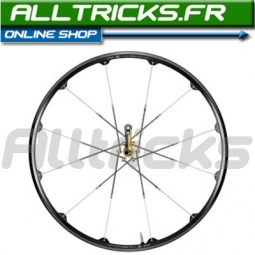 Crank Brothers Cobalt Wheelset Black & Gold XC AV + ARR 2010 9 mm or 15 mm