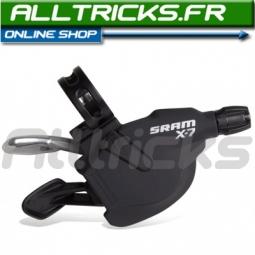 Sram Commandes de vitesses Triggers X7 (la paire) 3 x 9 vitesses
