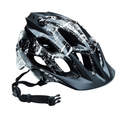 FOX Flux Helmet 2010 Black / White Size S / M