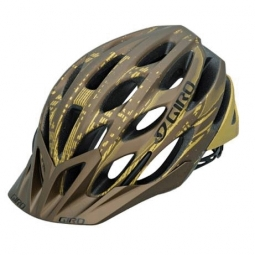 GIRO Phase Helmet 2010 Brown / Gold M