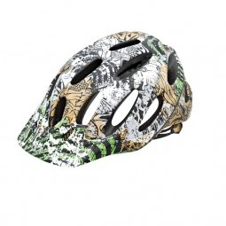 Giro Xen Helmet 2010 White / Green / Gold M