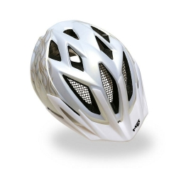 MET Casque CRACKERJACK Silver flamme