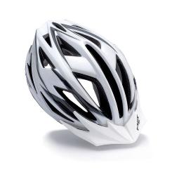 MET Falco Helmet White Silver