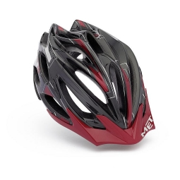 MET Veleno SIM Helmet 2011 Black Red L