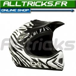 TSG Helmet integral Staten Zebra S