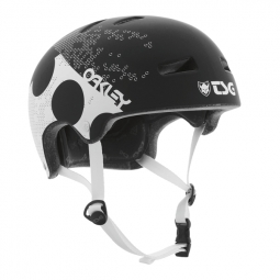 TSG Superlight Helmet bowl OAKLEY 35th anniversary Black S / M