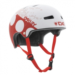 TSG Casque bol Superlight OAKLEY 35th anniversary rouge S/M