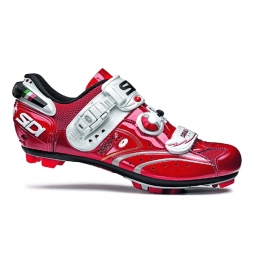 SIDI 2011 PROMO Chaussures DRAGON 2 SRS carbone rouge 42
