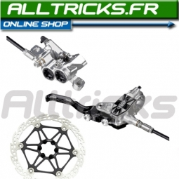 2011 HOPE Tech M4 Front Brake 203mm floating disc + aviation PM