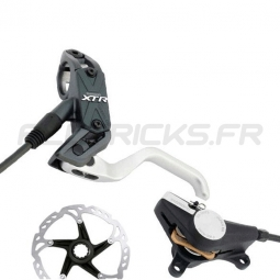 SHIMANO FREINS DISQUES XTR AV+AR complets M975 IS/PM sans disques