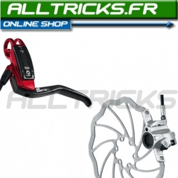 2011 Magura Marta SL Red Rear brake disk + SL 180mm IS