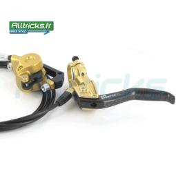 Magura Paire de freins Marta SL Or 2011 Av/Arr + disques 160 / 160 mm
