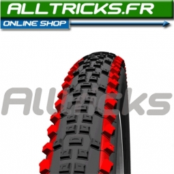 SCHWALBE Pneu Racing Ralph Evolution 26x2.25 TubeTypeRouge