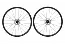 Paire de Roues Fast Forward F3D FCC Carbon Disc DT240S SP | 12x100 - 12x142mm | Corps Shimano/Sram | Noir Mat